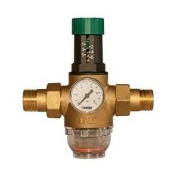 """Reduktor ciśnienia wody 1"""" HERZ z filtrem"""
