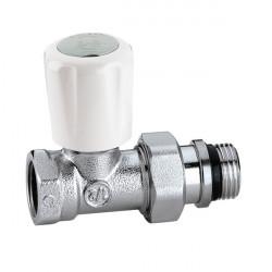 CALEFFI Zawór termostatyczny prosty 1/2 z pokrętłem
