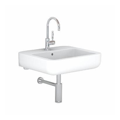 Umywalka EGO 60 cm z otworem, przelewem i powłoką Reflex Koło K11162900 Koło Umywalki wiszące 544,00 zł