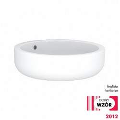 Umywalka okrągła stawiana na blat EGO 45 cm Koło K12145000 Koło Umywalki wiszące 666,00 zł